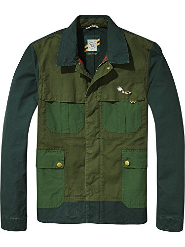 a Soda Scotch 17 Workwear Multicoloured Men's Jacket Combo Quality amp; Canvas Customized in Gaucho Racing 4gqOF