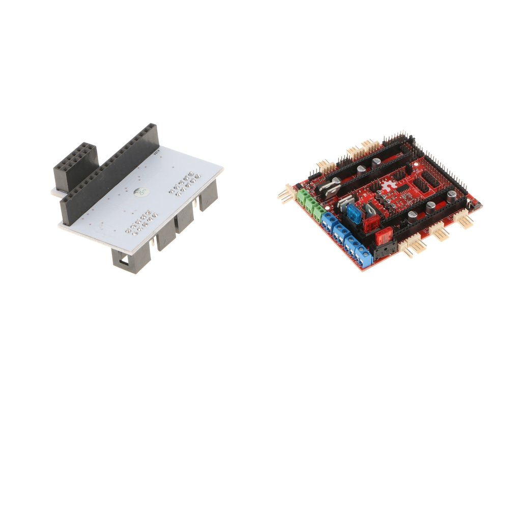 Fityle 3D Printer Ramps-FD Motherboard with LCD Panel Adapter for Adruino