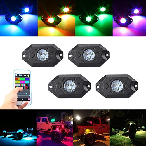 Color Changing Led Dome Lights - 9