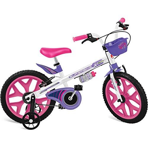 "Bicicleta 16"" Superbike (branca) Bandeirante Branco"