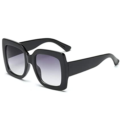 Amazon.com : YLNJYJ Gafas De Sol Cuadradas De Color Lady ...
