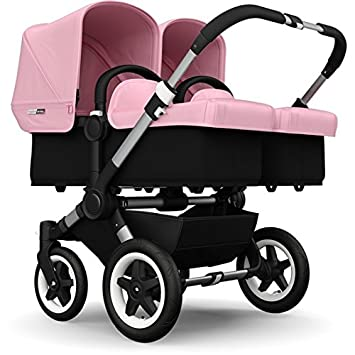 Amazon Com Bugaboo Donkey Twin Stroller Bundle Soft Pink Baby