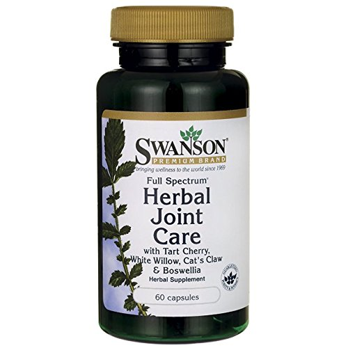 Swanson Full Spectrum Herbal Joint Care 60 Capsules Review