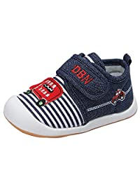 Kuner Baby Cartoon Casual Breathable Shoes for Baby Girls Boys Outdoor Sneakers First Walking Shoes 9-24 Months