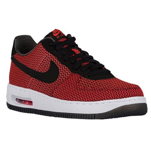 Nike Men's Air Force 1 Elite Crimson/Black Ankle-High