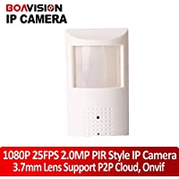 PIR Style Motion Detector Hd H.264 1080p Hidden Ip Camera 2.0mega Pixel Onvif 2.3 P2p Plug and Play Security Network Cameras