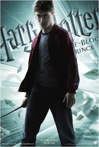 Harry Potter and The Half Blood Prince - Movie Poster (Harry with Wand) (Size: 27 inches x 39 inches)