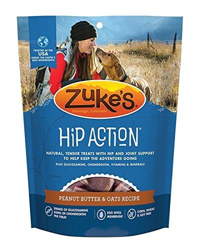 Zukes Hip Action Natural Dog Treats, 1 lb.