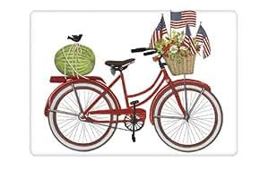 Mary Lake-Thompson - Red Bike Flour Sack Towel