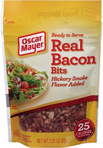 Oscar Mayer Real Bacon Bits, Hickory Smoke, 2.25 Ounce (Pack of 6) by Oscar Mayer