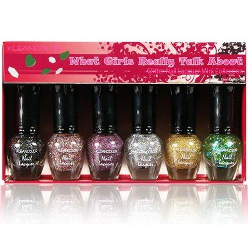 mini glitter nail polish - 1