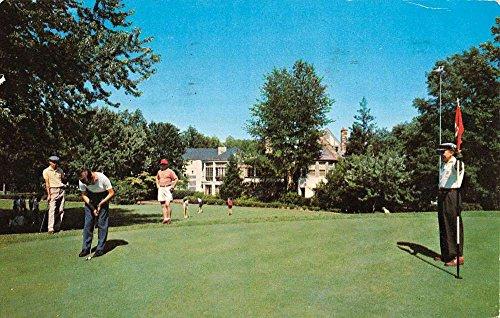 Bethesda Maryland Kenwood Golf Country Club Vintage Postcard K88029