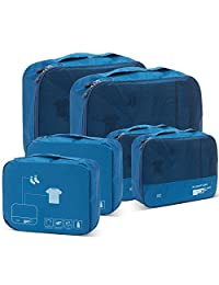 Packing Cubes Set for Travel Accessories Suitcase Organizers Clothes Luggage Bags Lightweight Carry On Travel Gear