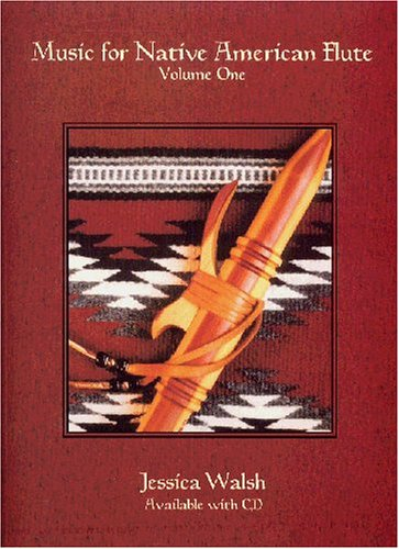 Music for Native American Flute, Vol. 1 (Book & Audio CD)
