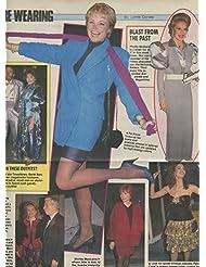Pat Klous Leggy Barbi Benton original clipping magazine photo 1pg 9x12 #R3927