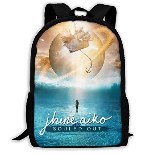 Jhené-Aiko Adults Bookbag Computer Bag Travel Laptop Backpack Business Backpack for Women & Men