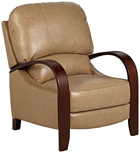 Cooper Latte Bonded Leather 3-Way Recliner Chair