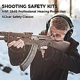 BJKing Shooting Ear Protection Set, Eye and Ear
