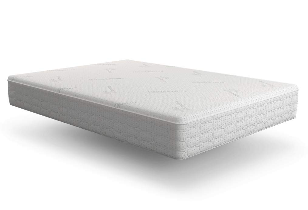 Snuggle-Pedic Mattress That Breathes - Patented Airflow Transfer System, Kool-Flow Ultra-Luxury Bamboo Cover, USA Orthopedic Flex-Support Memory Foam, 4-Month Sleep Trial & 20-Year Warranty (King) by Snuggle-Pedic