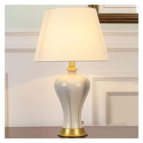 Shirley,s Home Lámpara de mesa de cerámica, lámpara de mesa grande ...