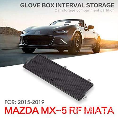 YUECHI Car Accessories ABS Center Console Glove Organizer Tray Retrofit Classify Sort Out Box for Mazda MX-5 RF Miata 2015-2019