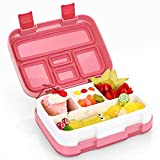 Kids Lunch Box, Hometall Bento Box for Kids with Spoon, BPA-Free, Leakproof 5