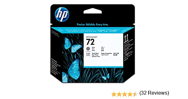 HP C9380A - Cabezal de Impresora, Gris y Negro fotográfico: Hp ...