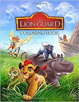 Set of 2 4SGM Lion Guard Jumbo Coloring /& Activity Book
