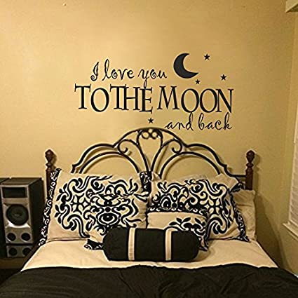 Amazon.com: Wall Decal Decor Master Bedroom Wall Quotes ...