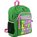 John Deere Green 16 inch Backpack FTK245G