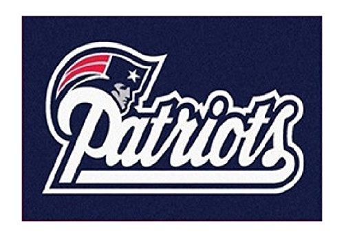 NFL Team Logo Area Rug - 3' x 5' (Patriots) (Nfl Football Team Area Rug)