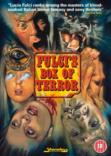 Fulci Box of Terror (New York Ripper, Manhattan Baby and Black Cat) [DVD] + Booklet