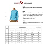 BALEAF Men's Long Sleeve Shirts Lightweight UPF