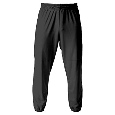 A4 Drop Ship Youth Elastic Bottom Pull-On Baseball Pant