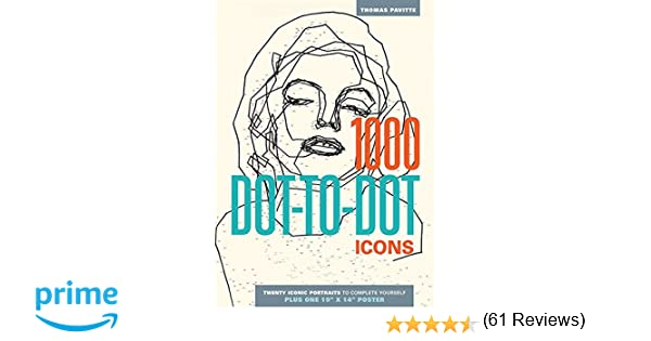1000 Dot-to-Dot: Icons: Thomas Pavitte: 9781626860650: Amazon.com ...