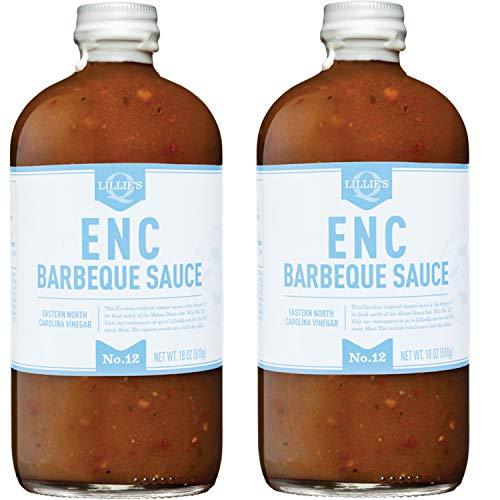 Lillie's Q ENC Eastern North Carolina Vinegar Barbeque Sauce, 2 Pack