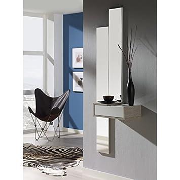 meuble dentre avec miroir toba