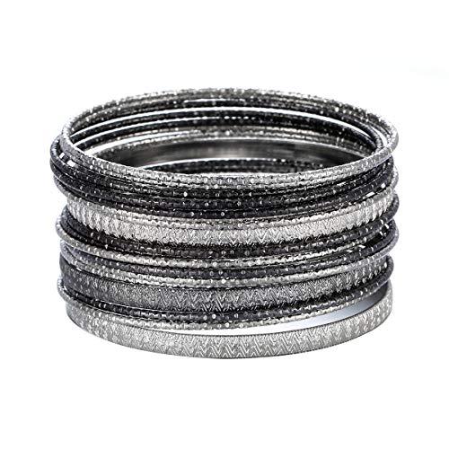 Ensoul Multiple Textured Bracelets Bangles product image