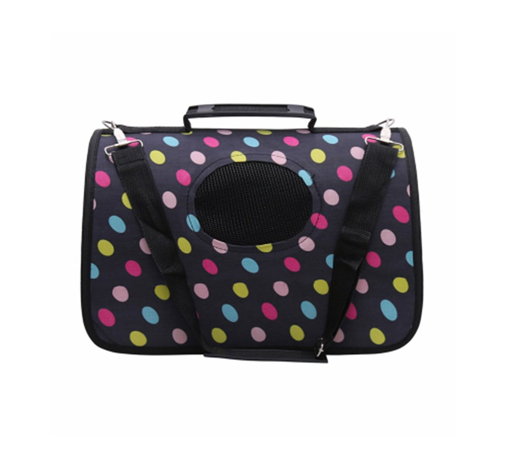 Pet Carrier Soft Sided Travel Bag for Small Dogs & Cats- Airline Approved  32