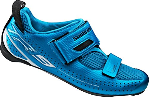 SHIMANO SH-TR9 Cycling Shoe - Men's Blue; 46