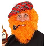 Character Curly /beard - Orange Wig For Hair Accessory Fancy Dress