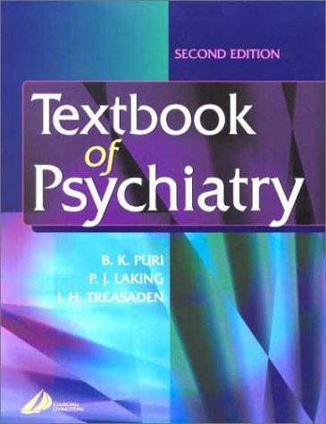 Textbook of Psychiatry, 2e