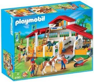 Playmobil 4190 - Scuderia cavalli: Amazon.it: Giochi e giocattoli