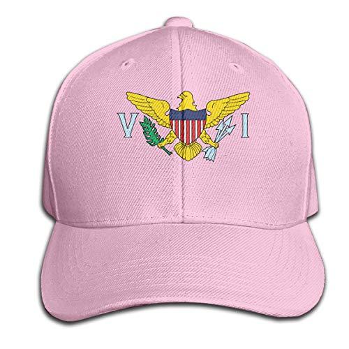 Unisex Cool Baseball Caps United States Virgin Islands Flag Hip Hop Casquette & Adjustable Sunbonnet Low Profile Plain - Profile Bonnet Low