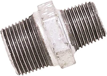 hierro galvanizado, 15 x 21, 200 mm Tubo macho Boutt 2138348 TF1520