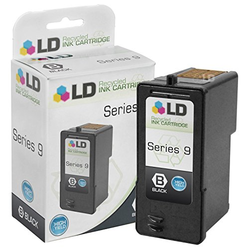 Printer Inkjet Dell Toner (LD © Remanufactured Replacement for Dell MW175 (MK992 Series 9) High Yield Black Inkjet Cartridge for use in Dell Photo- all-in-one V305, V305w, and 926 Printers)