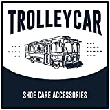 Trolleycar Small Suede Brush with Brass Bristles