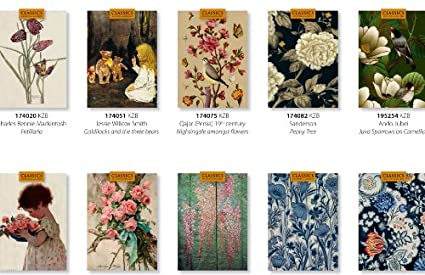 Amazon all 0ccasion bargain cards 25 folded 5x7 premium quality all 0ccasion bargain cards 25 folded 5x7 premium quality art greeting cards with blank m4hsunfo