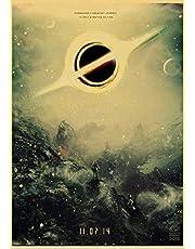 Klassieke Film Interstellaire Poster Nolan Mcconaughey Retro Posters En Prints Canvas Schilderij Thuis Room Decor Film Frameloze D1074 50X70 Cm