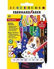 Eberhard Faber 551010 Markörer, 10 stycken, Flerfärgad